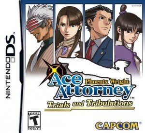 Phoenix Wright: Ace Attorney - Trials and Tribulations Box Cover