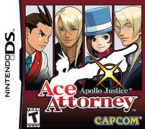 Apollo Justice: Ace Attorney Box Cover