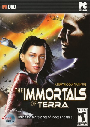 The Immortals of Terra: A Perry Rhodan Adventure Box Cover