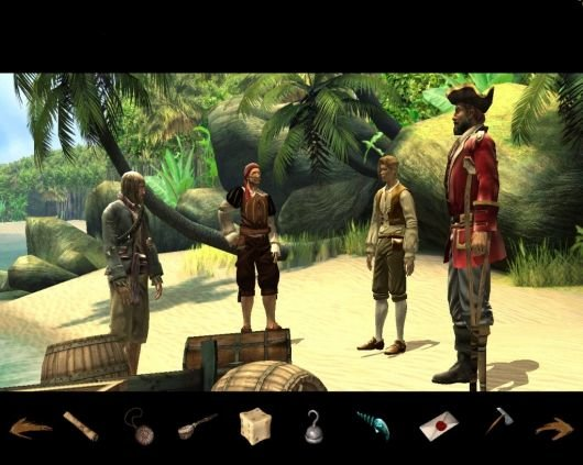 Treasure Island review - abou t | Adventure Gamers