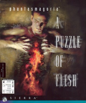Phantasmagoria: A Puzzle of Flesh Box Cover