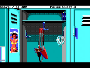 'Police Quest 2: The Vengeance - Screenshot #7