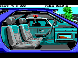 'Police Quest 2: The Vengeance - Screenshot #6