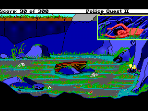 'Police Quest 2: The Vengeance - Screenshot #5