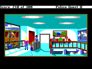'Police Quest 2: The Vengeance - Screenshot #4