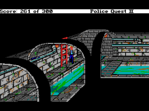 'Police Quest 2: The Vengeance - Screenshot #3
