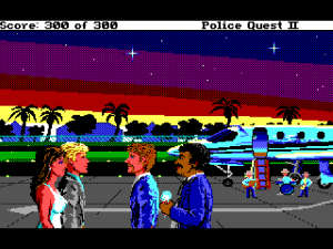 'Police Quest 2: The Vengeance - Screenshot #2