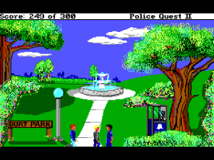 'Police Quest 2: The Vengeance - Screenshot #12