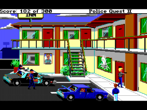 'Police Quest 2: The Vengeance - Screenshot #11