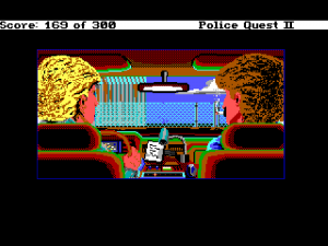 'Police Quest 2: The Vengeance - Screenshot #10