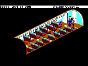 'Police Quest 2: The Vengeance - Screenshot #9