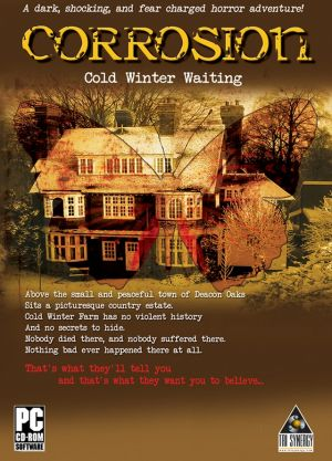 Corrosion: Cold Winter Waiting Box Cover