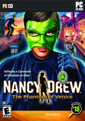 Nancy Drew: The Phantom of Venice Box Cover