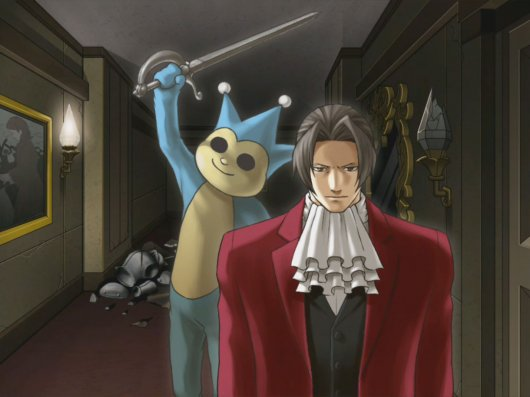 Screenshot for Ace Attorney Investigations: Miles Edgeworth #2