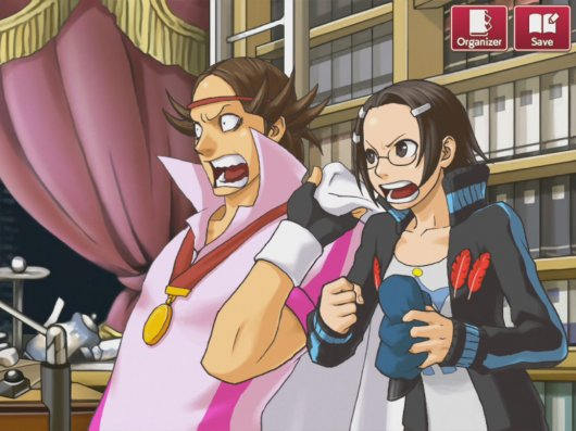 Screenshot for Ace Attorney Investigations: Miles Edgeworth #0