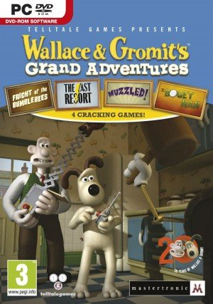 Wallace & Gromit's Grand Adventures Box Cover