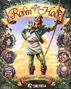 Conquests of the Longbow: The Legend of Robin Hood Box Cover
