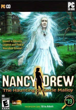 Nancy Drew: The Haunting of Castle Malloy Box Cover