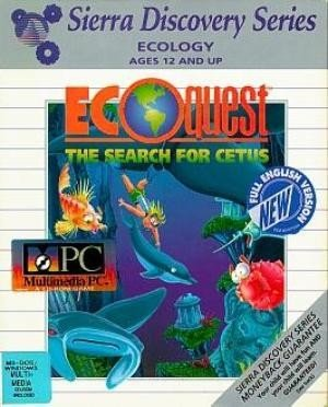 EcoQuest: The Search for Cetus - Cover art
