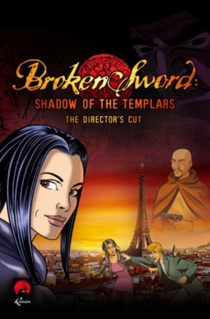 Broken Sword: Shadow of the Templars - The Director's Cut - Cover art