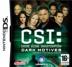 CSI: Dark Motives (DS) Box Cover