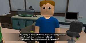 Life in the Dorms Screenshot #1