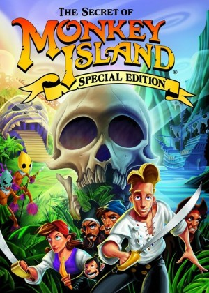 The Secret of Monkey Island: Special Edition Box Cover