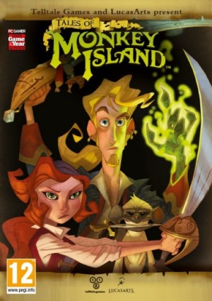 Tales of Monkey Island: Chapter 3 - Lair of the Leviathan Box Cover