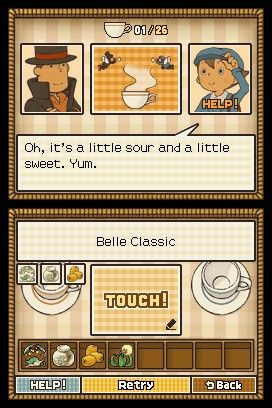 'Professor Layton and the Diabolical Box - Screenshot #10