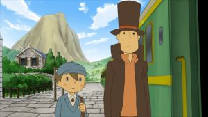 'Professor Layton and the Diabolical Box - Screenshot #1