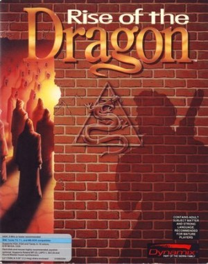 Rise of the Dragon Box Cover