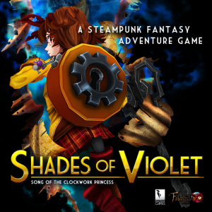 Shades of Violet: Episode 1 - Song of the Clockwork Princess Box Cover