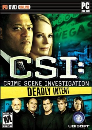 CSI: Deadly Intent Box Cover