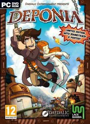 Deponia Box Cover