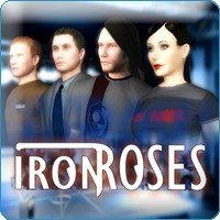 Iron Roses Box Cover