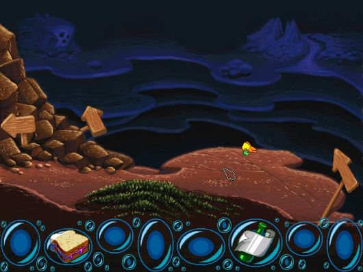 Screenshot for Freddi Fish and the Case of the Missing Kelp Seeds #0