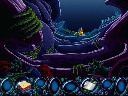 Screenshot for Freddi Fish and the Case of the Missing Kelp Seeds #1