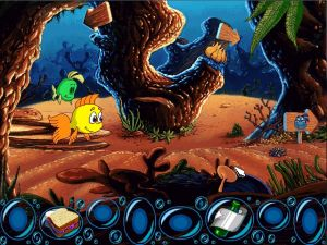 'Freddi Fish and the Case of the Missing Kelp Seeds - Screenshot #3