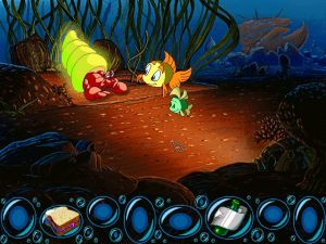 'Freddi Fish and the Case of the Missing Kelp Seeds - Screenshot #1
