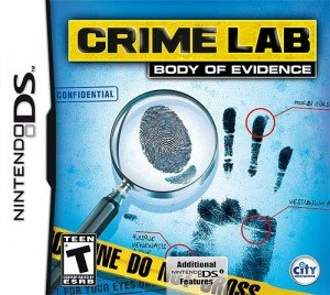 Crime Lab: Body of Evidence Box Cover