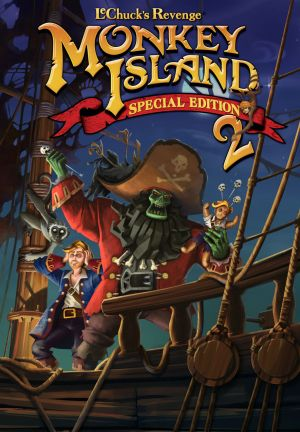 Monkey Island 2: LeChuck's Revenge - Special Edition Box Cover