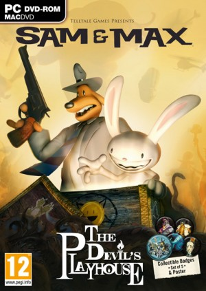 Sam & Max: The Devil's Playhouse Box Cover
