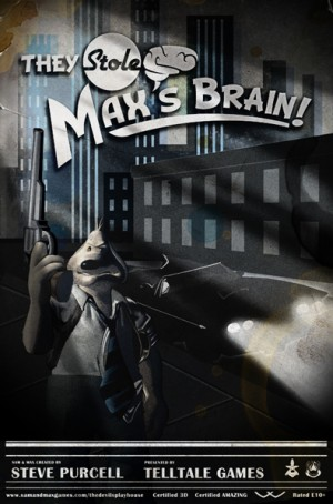 Sam & Max: The Devil's Playhouse - Episode 3: They Stole Max's Brain! Box Cover