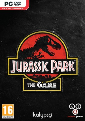 Jurassic Park: The Game - Cover art