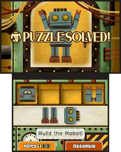 Screenshot for Professor Layton and the Miracle Mask #1