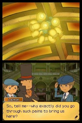 Screenshot for Professor Layton and the Unwound Future #0