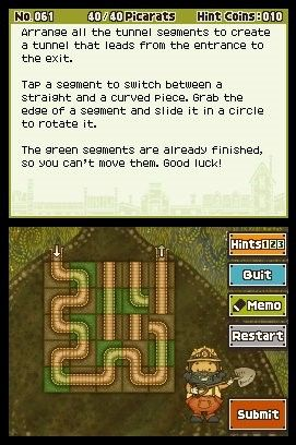 'Professor Layton and the Unwound Future - Screenshot #8