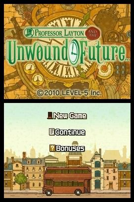 'Professor Layton and the Unwound Future - Screenshot #5