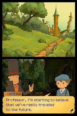 'Professor Layton and the Unwound Future - Screenshot #4
