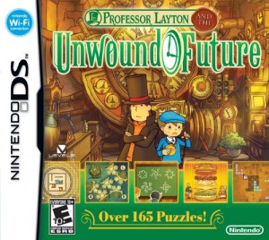 Professor Layton and the Unwound Future Box Cover